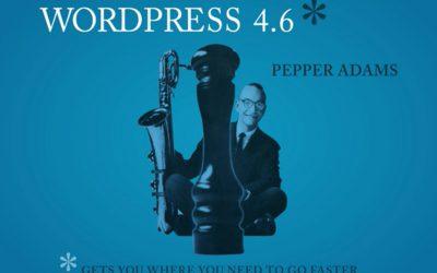 "וורדפרס 4.6 ""Pepper"" הגיעה!"